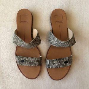 Dolce Vita Zebra Print Strappy Sandals
